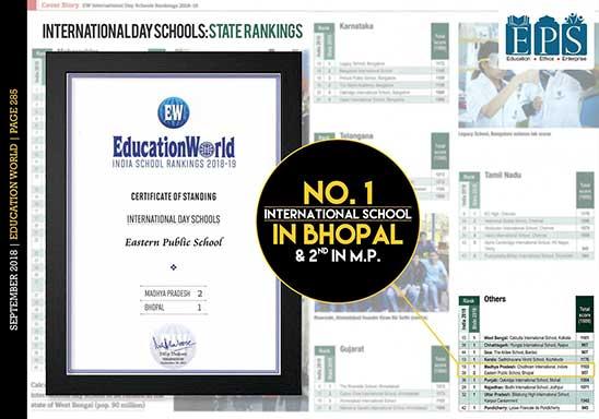 No. 1 International Day School In Bhopal.